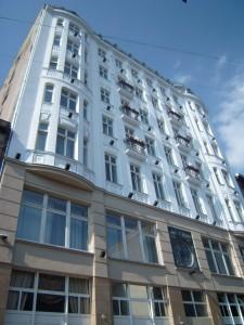 Hotel Savoy in Łódź. Nog steeds te bezichtigen.