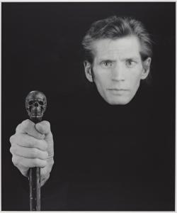 Self Portrait 1988 by Robert Mapplethorpe 1946-1989